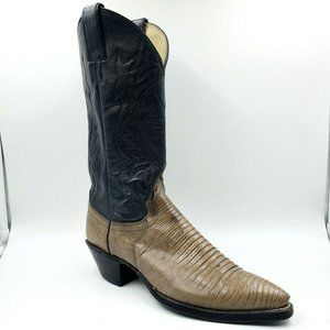 Justin Leather Western Pointed Toe Cowboy Boots7
